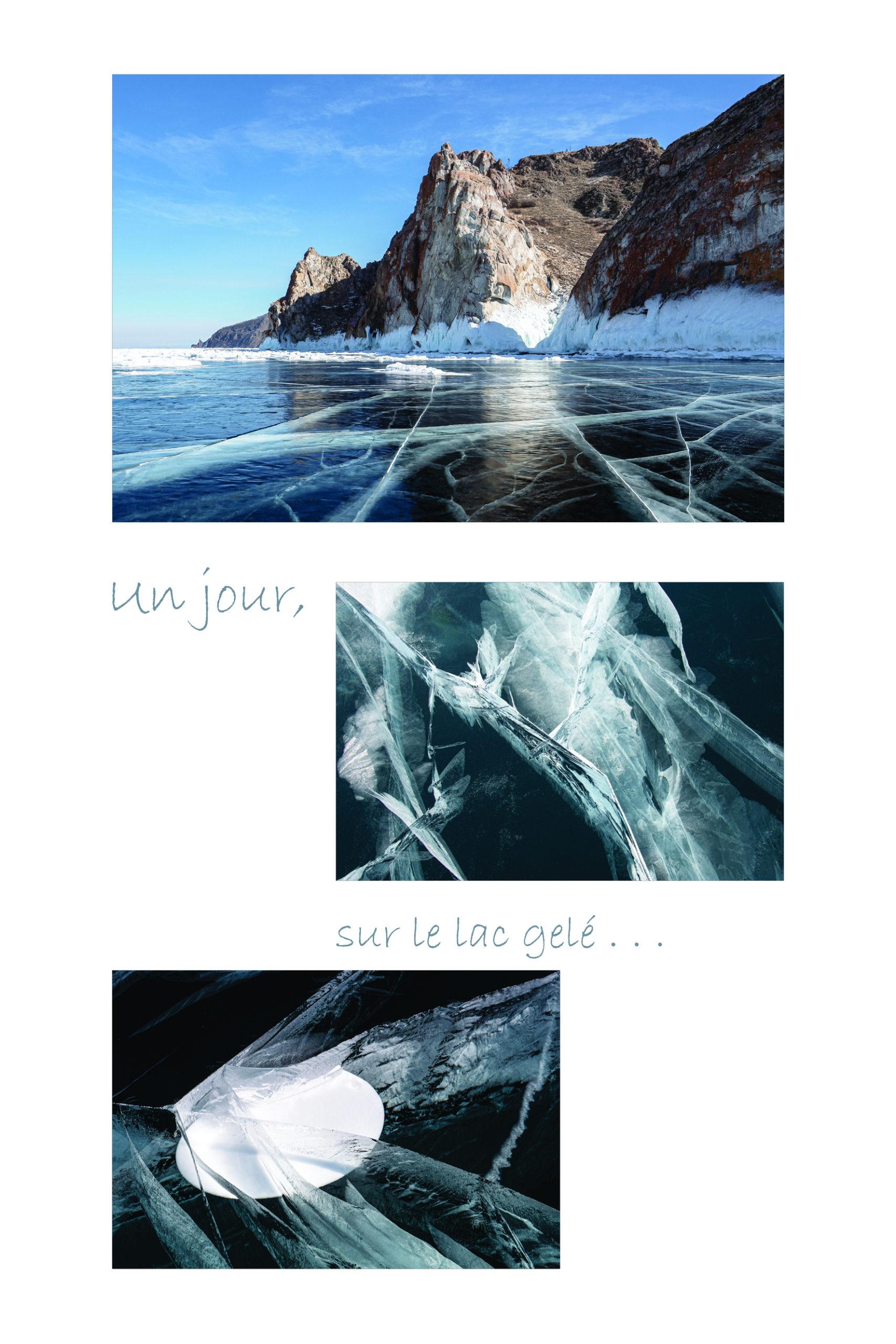 THIMISTER Claudine et Philippe - Un jour sur le lac gelé